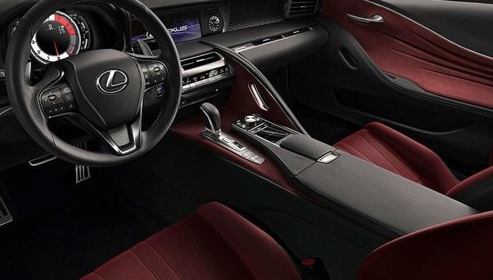 2021 Lexus LC 500h Interior