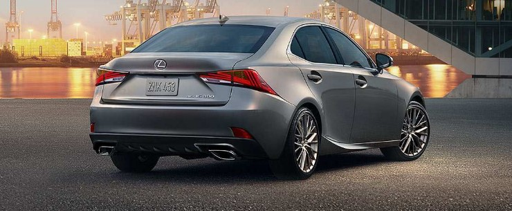2021 Lexus IS Exterior